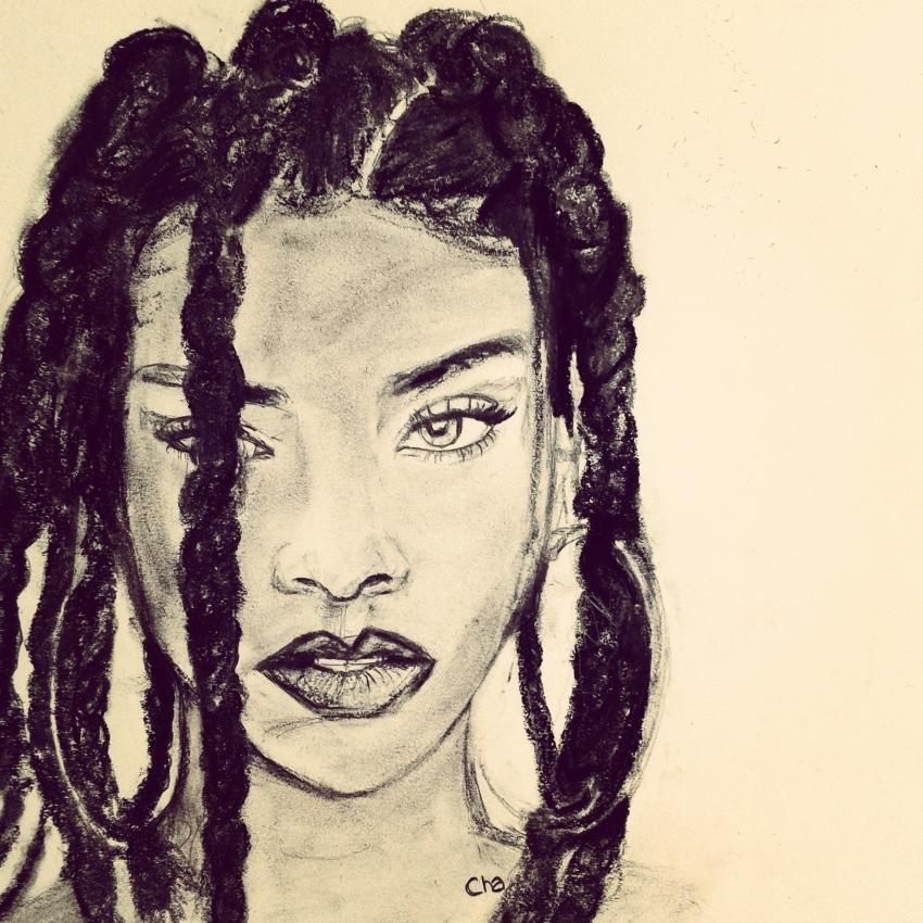 Rihanna by charlinec